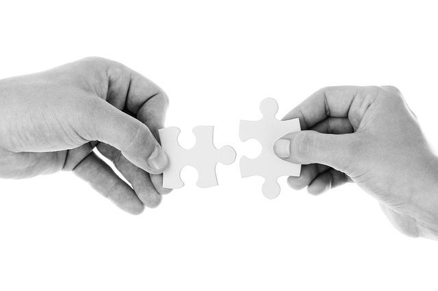 puzzle-verbindung-hände