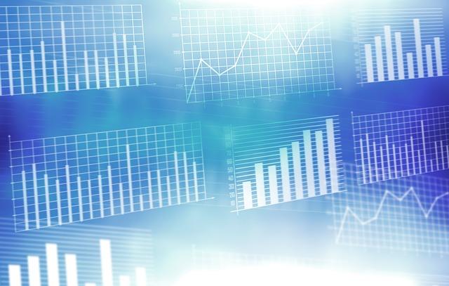 diagramme-wirtschaft-wachstum-blau