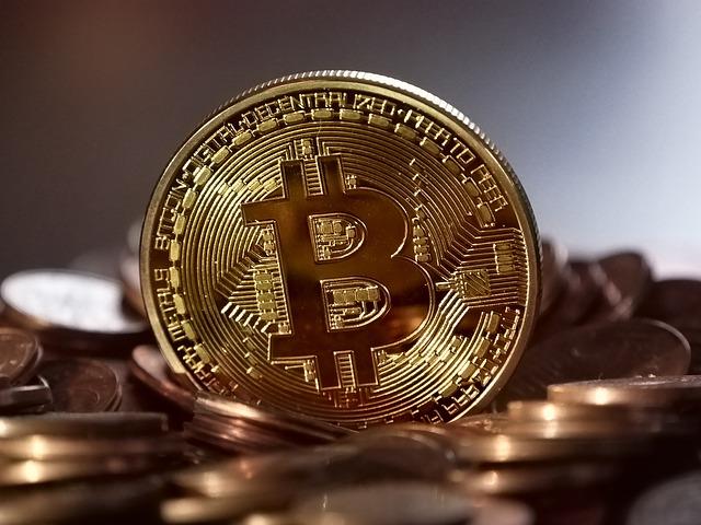 bitcoin-glänzend